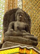 Asisbiz 06 Area Grand Palace Cambodian style Buddha image Bangkok Thailand 01