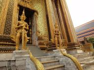 Asisbiz 07 Area Grand Palace guardians Bangkok Thailand 01
