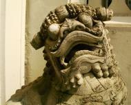 Asisbiz Chinese Lion statues Bangkok Thailand 07