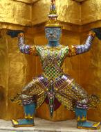 Asisbiz Demon guardians Bangkok Thailand 01