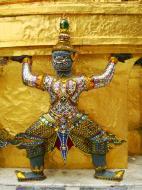 Asisbiz Demon guardians Bangkok Thailand 11