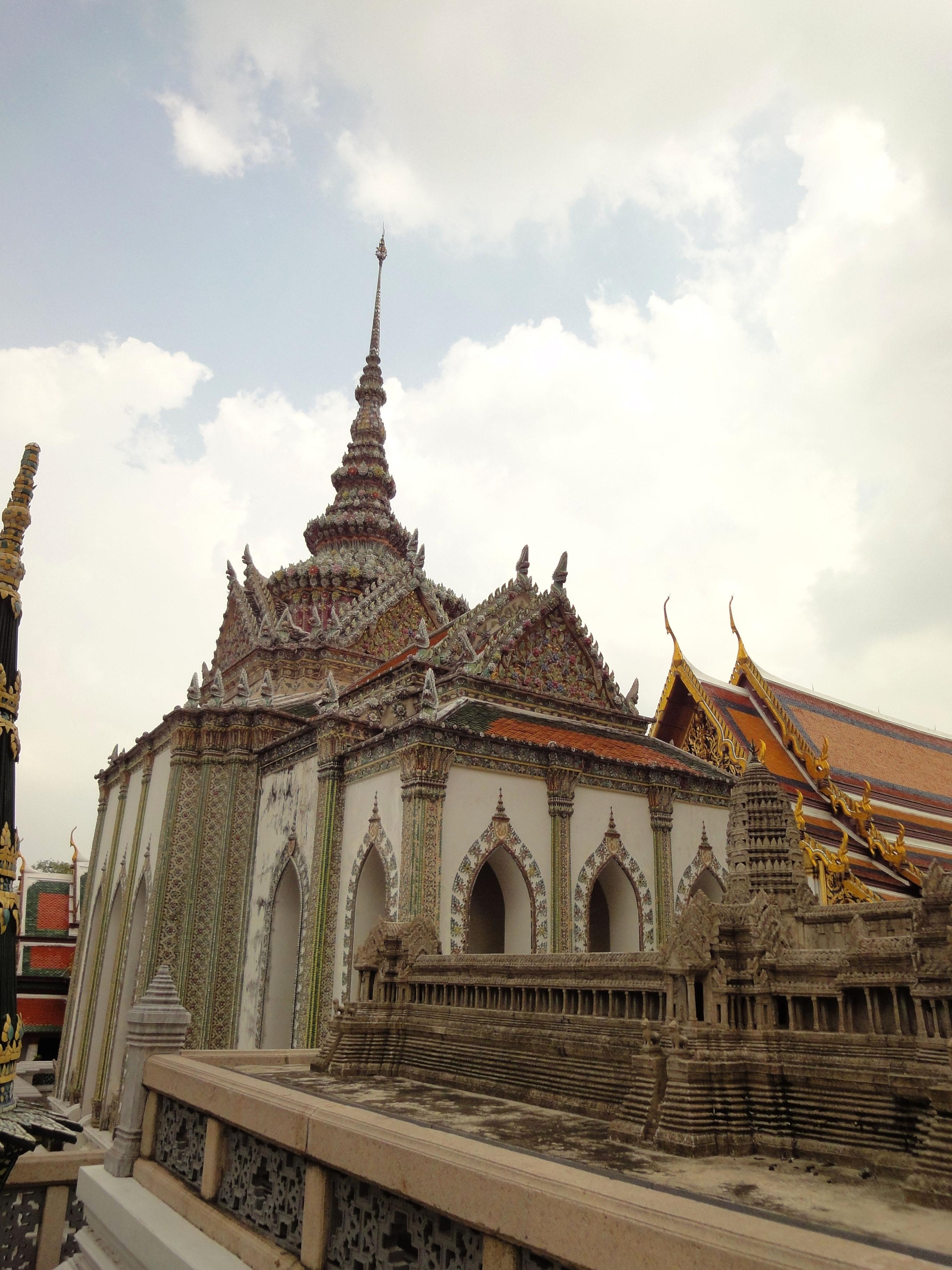 06 Model of the Angkor Wat Grand Palace Bangkok Thailand 02