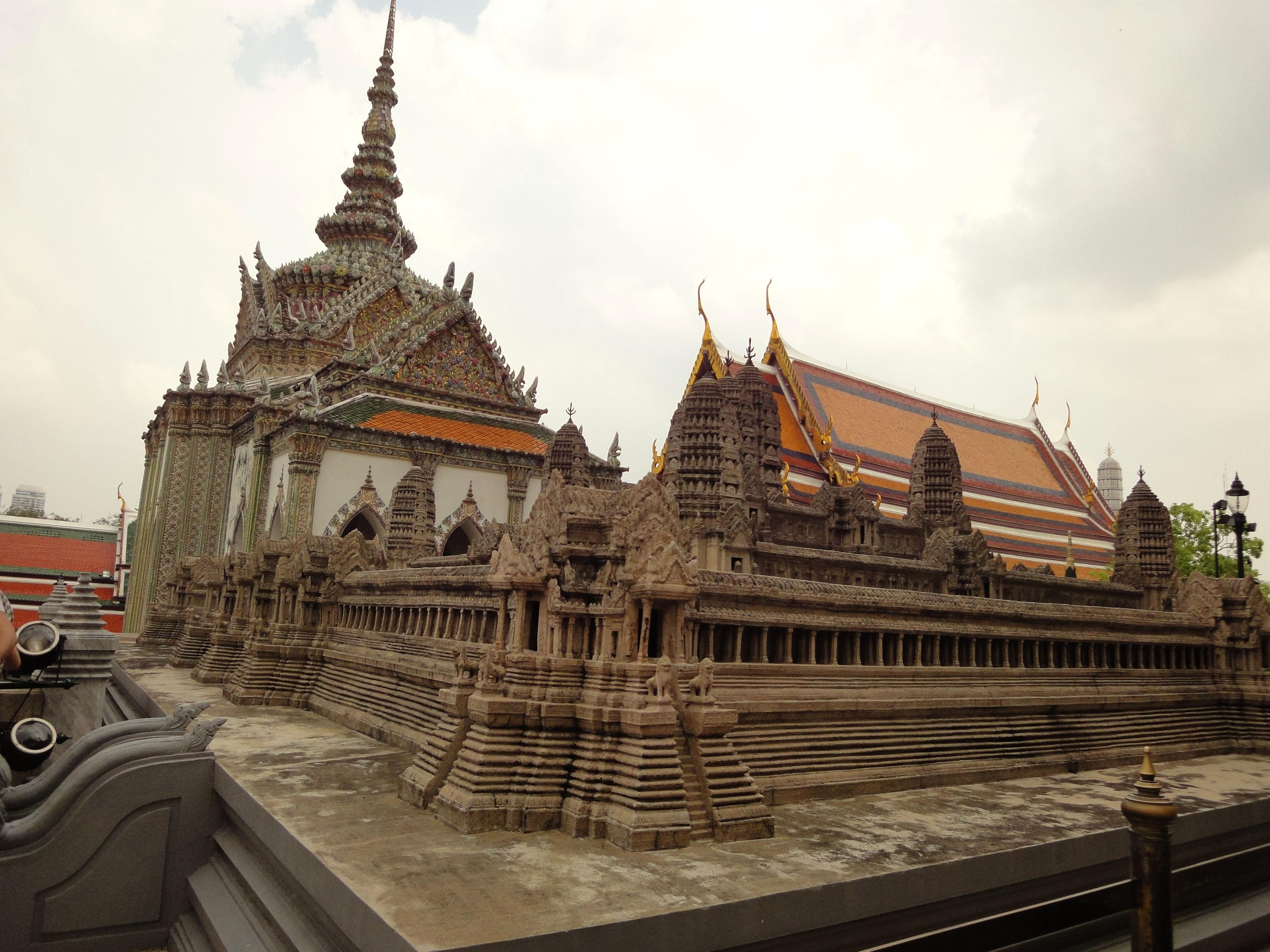 06 Model of the Angkor Wat Grand Palace Bangkok Thailand 04