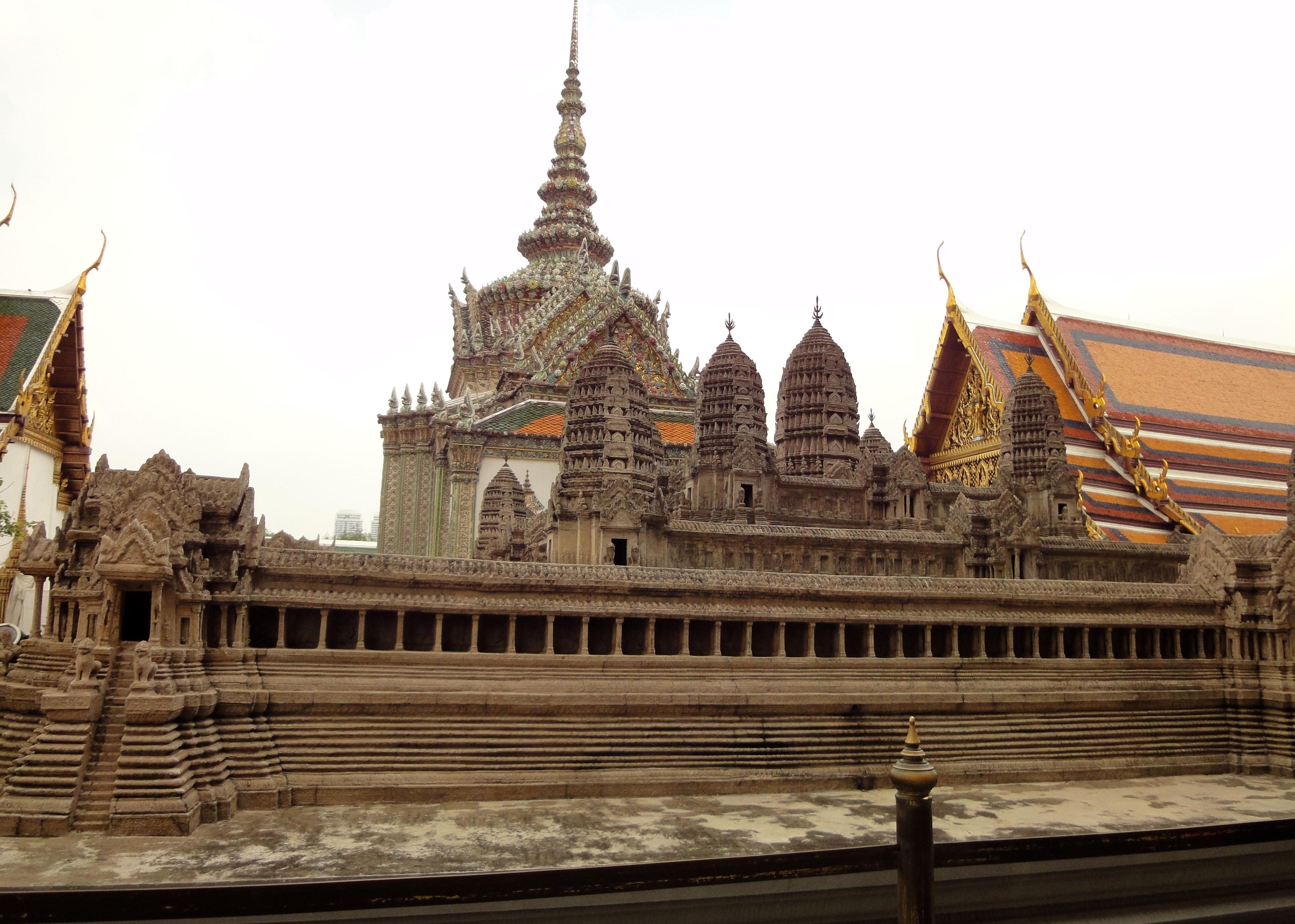 06 Model of the Angkor Wat Grand Palace Bangkok Thailand 05