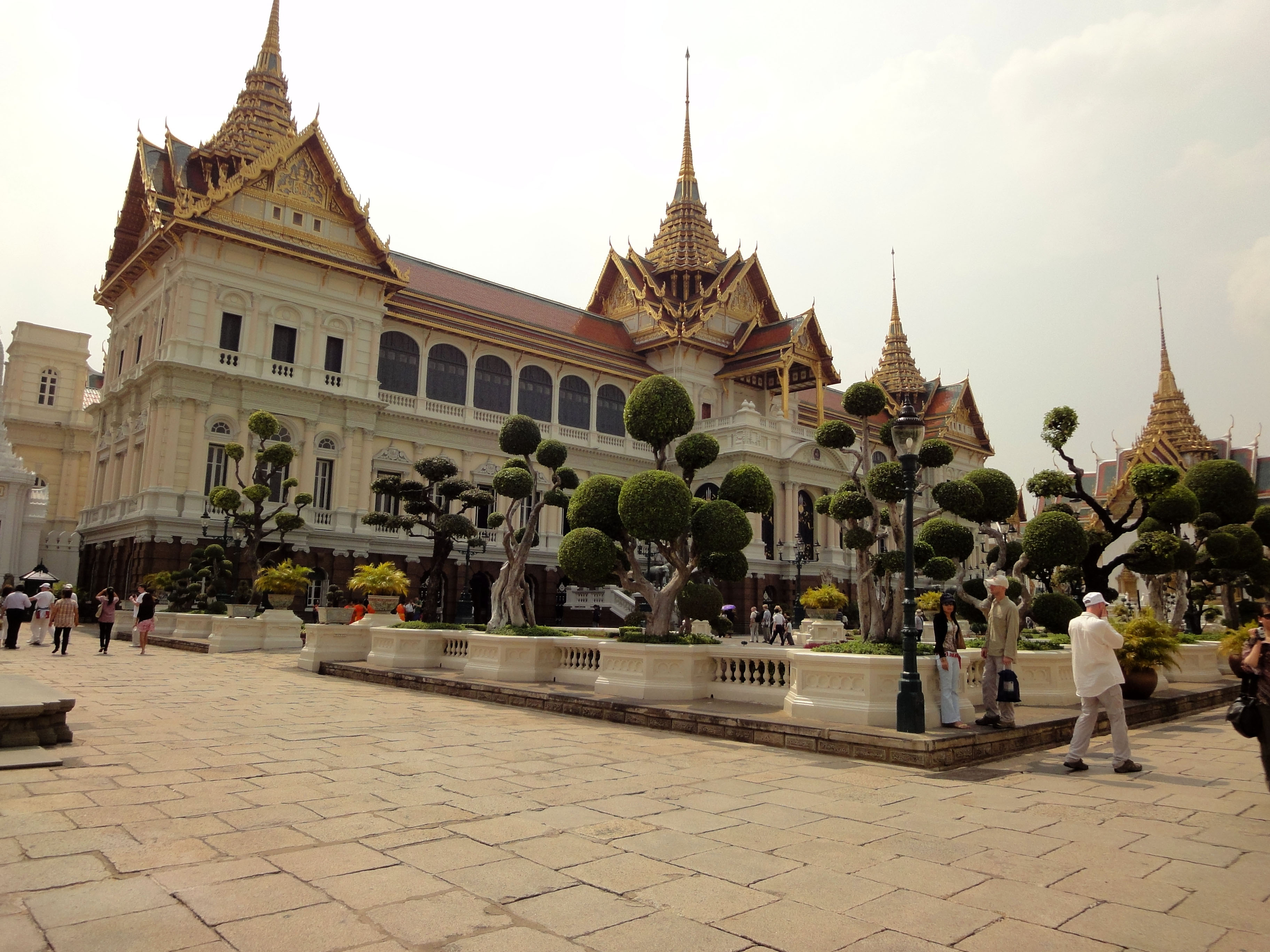 26 Chakri Maha Prasat Hall Grand Palace Bangkok Thailand 01