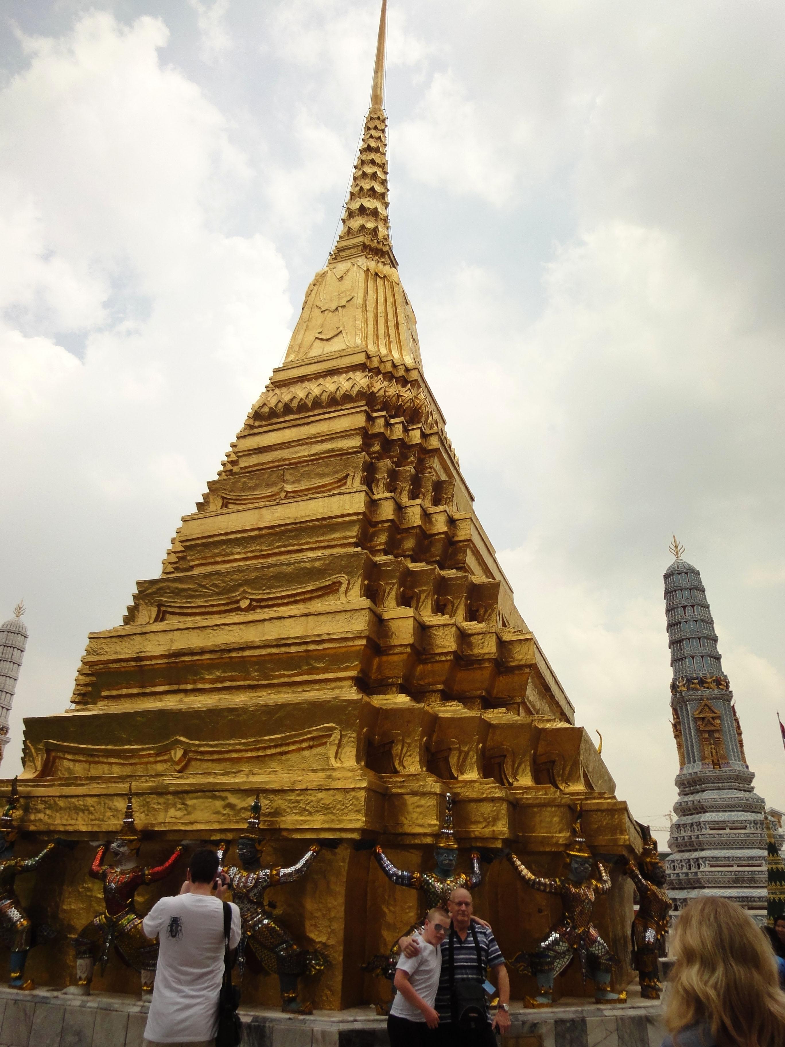 Garuda stupa Grand Palace Bangkok Thailand 01