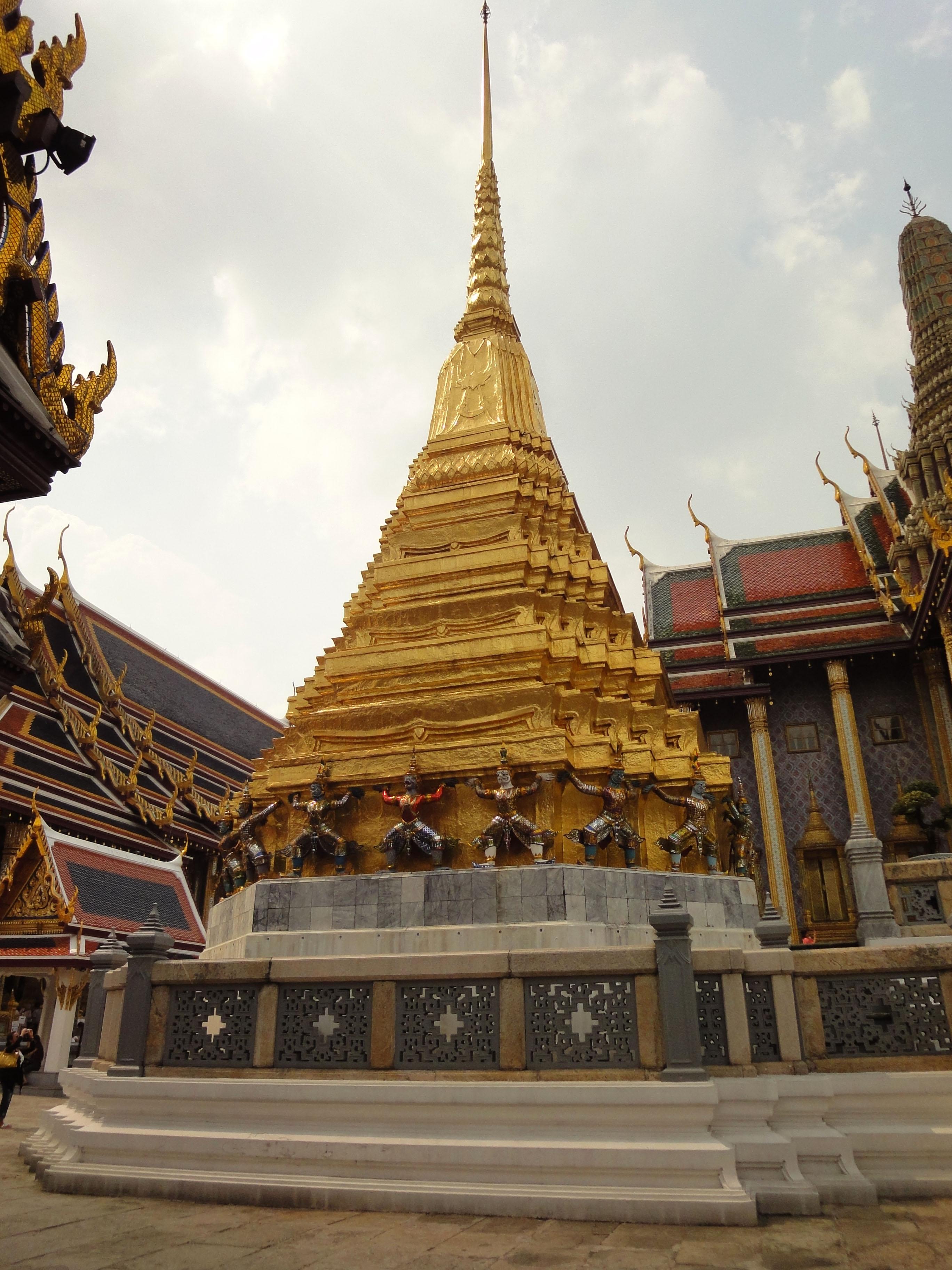 Garuda stupa Grand Palace Bangkok Thailand 02