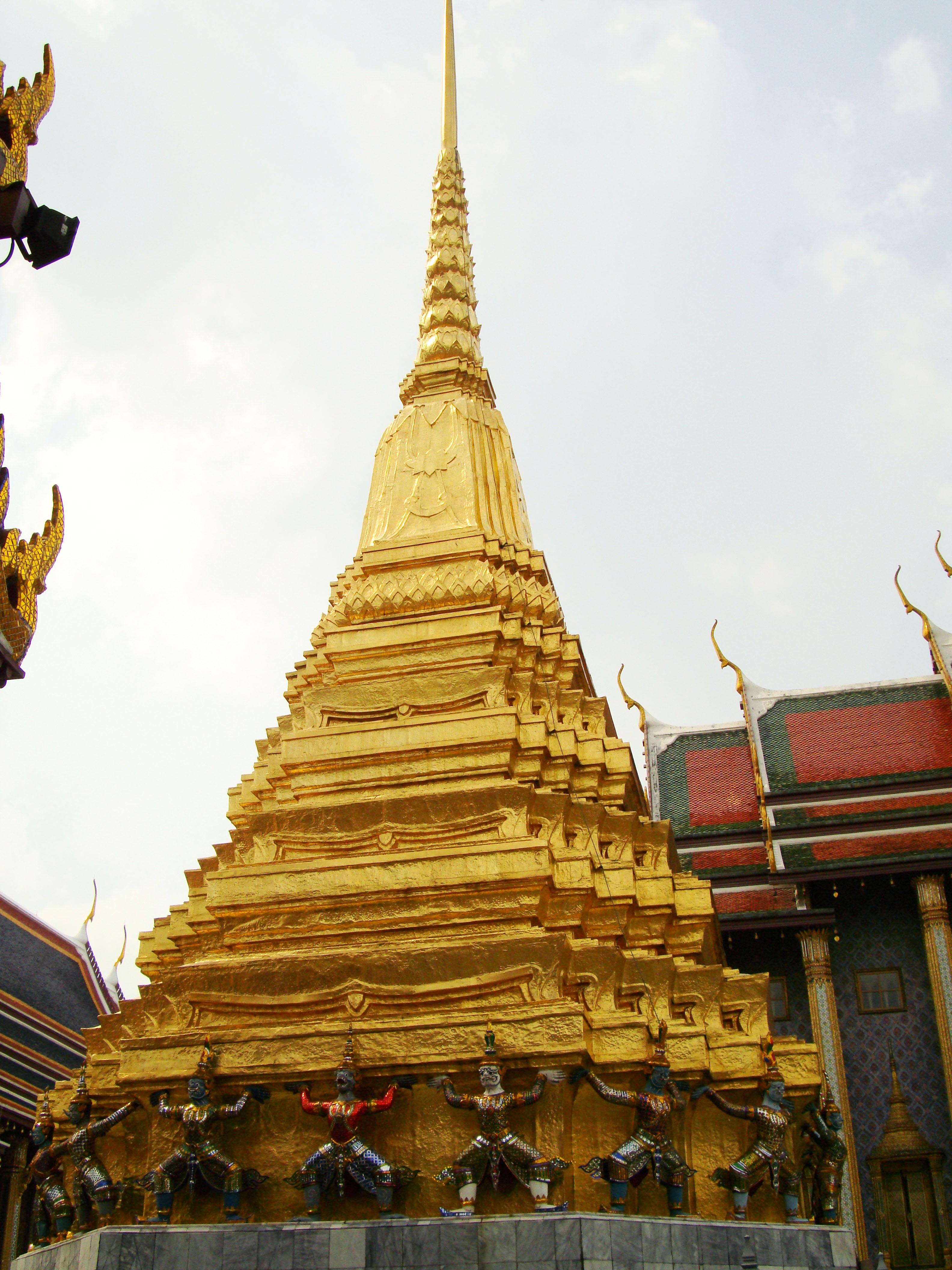 Garuda stupa Grand Palace Bangkok Thailand 05