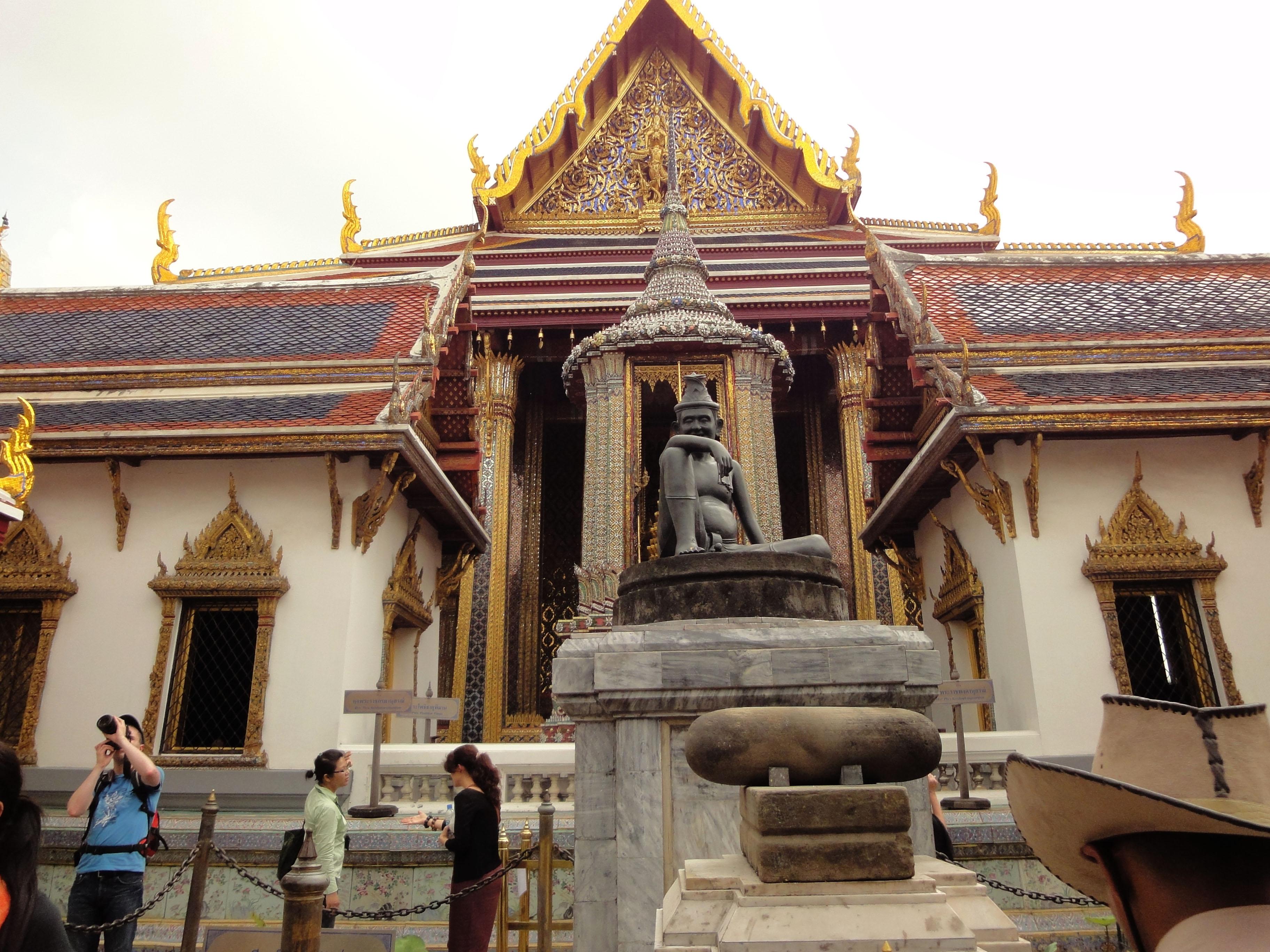 Grand Palace Phra Borom Maha Ratcha Wang Bangkok Thailand 01