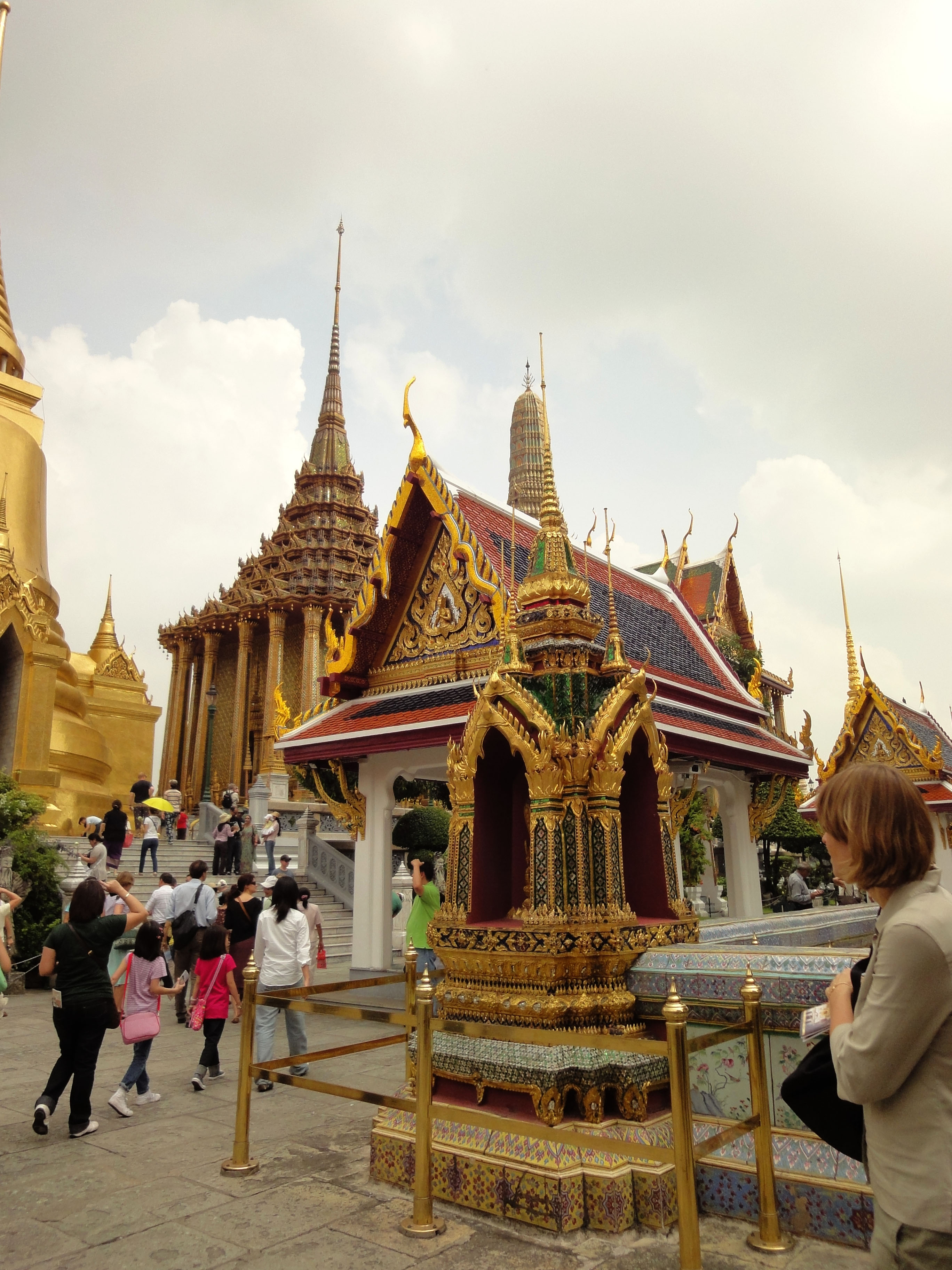 Grand Palace Phra Borom Maha Ratcha Wang Bangkok Thailand 03