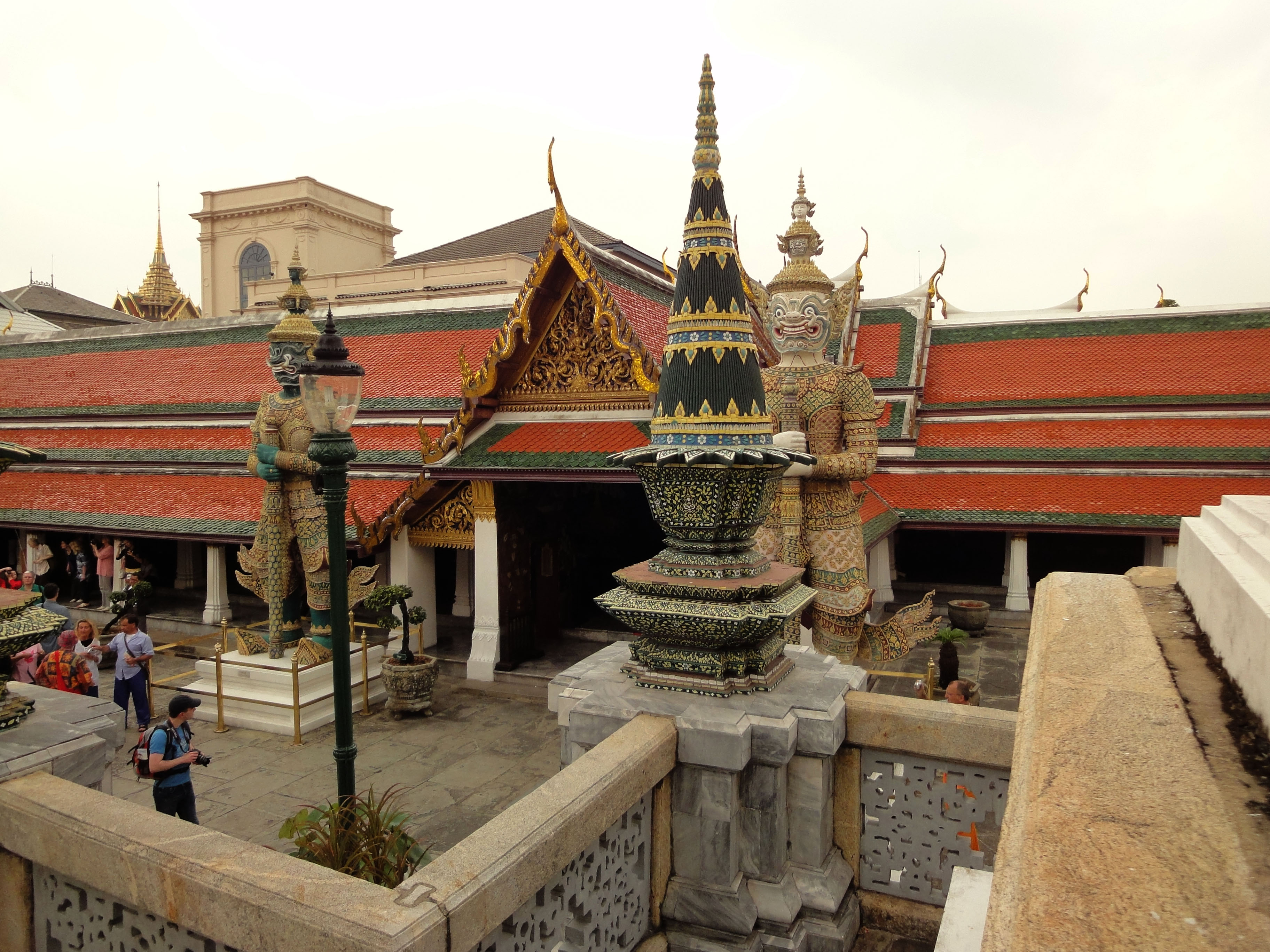 Grand Palace Phra Borom Maha Ratcha Wang Bangkok Thailand 07