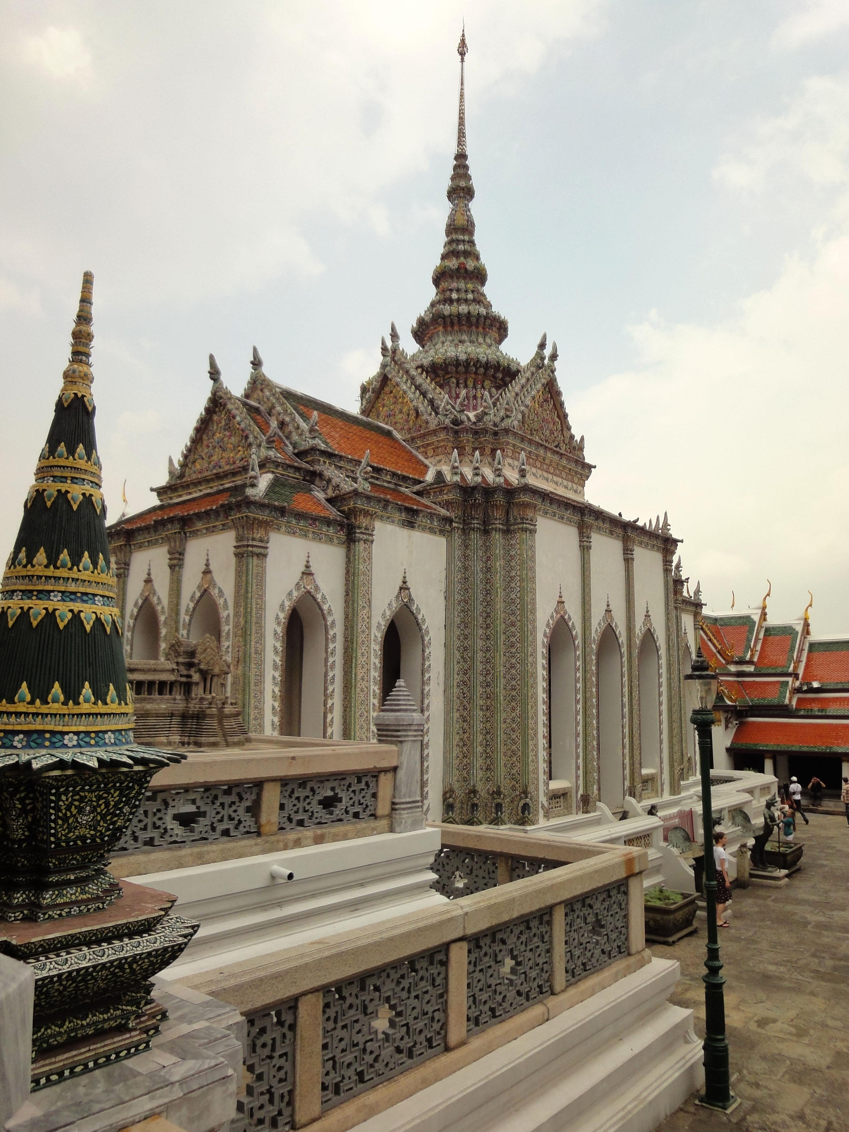 Grand Palace Phra Borom Maha Ratcha Wang Bangkok Thailand 11