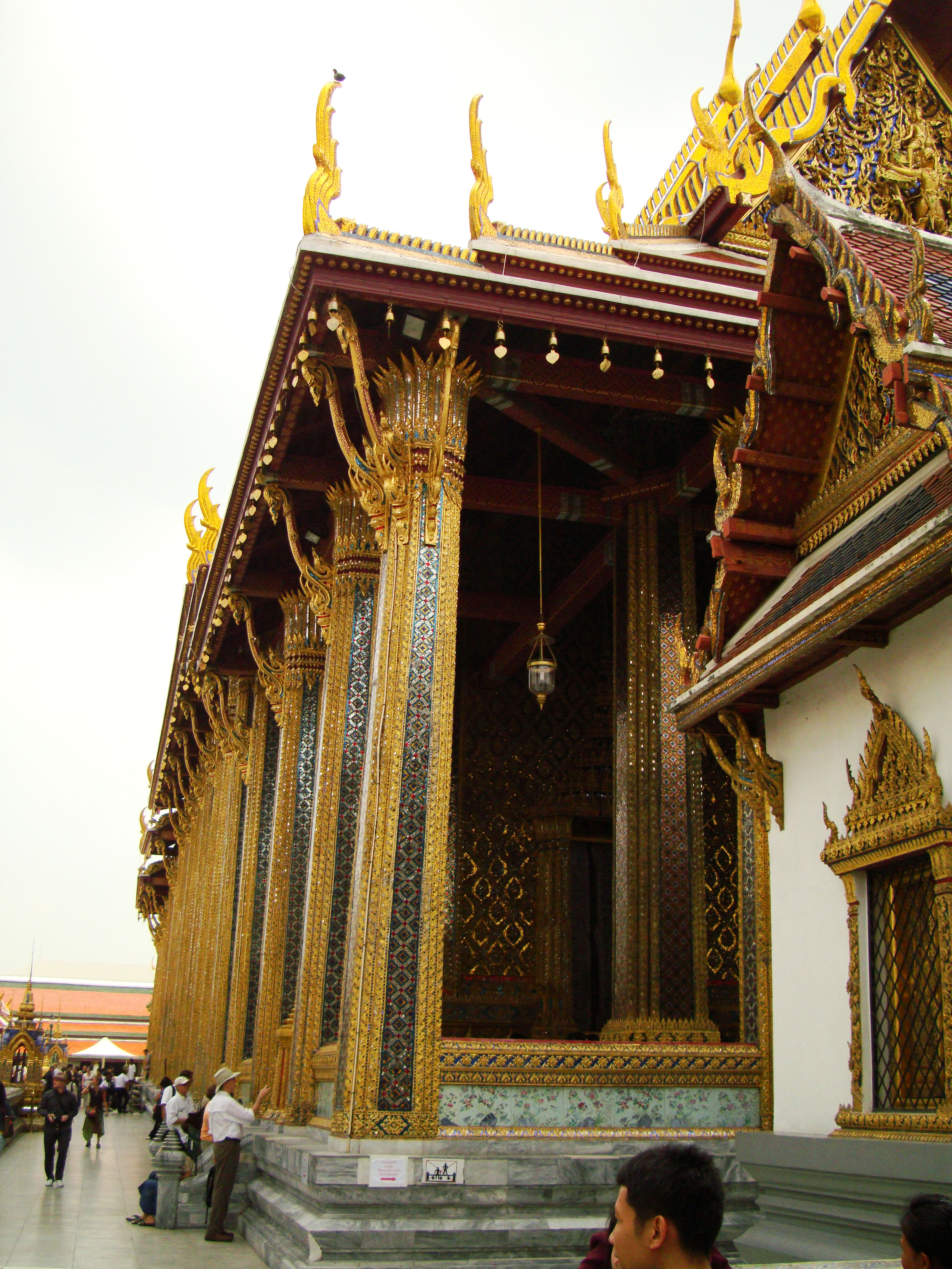 Grand Palace Phra Borom Maha Ratcha Wang Bangkok Thailand 24