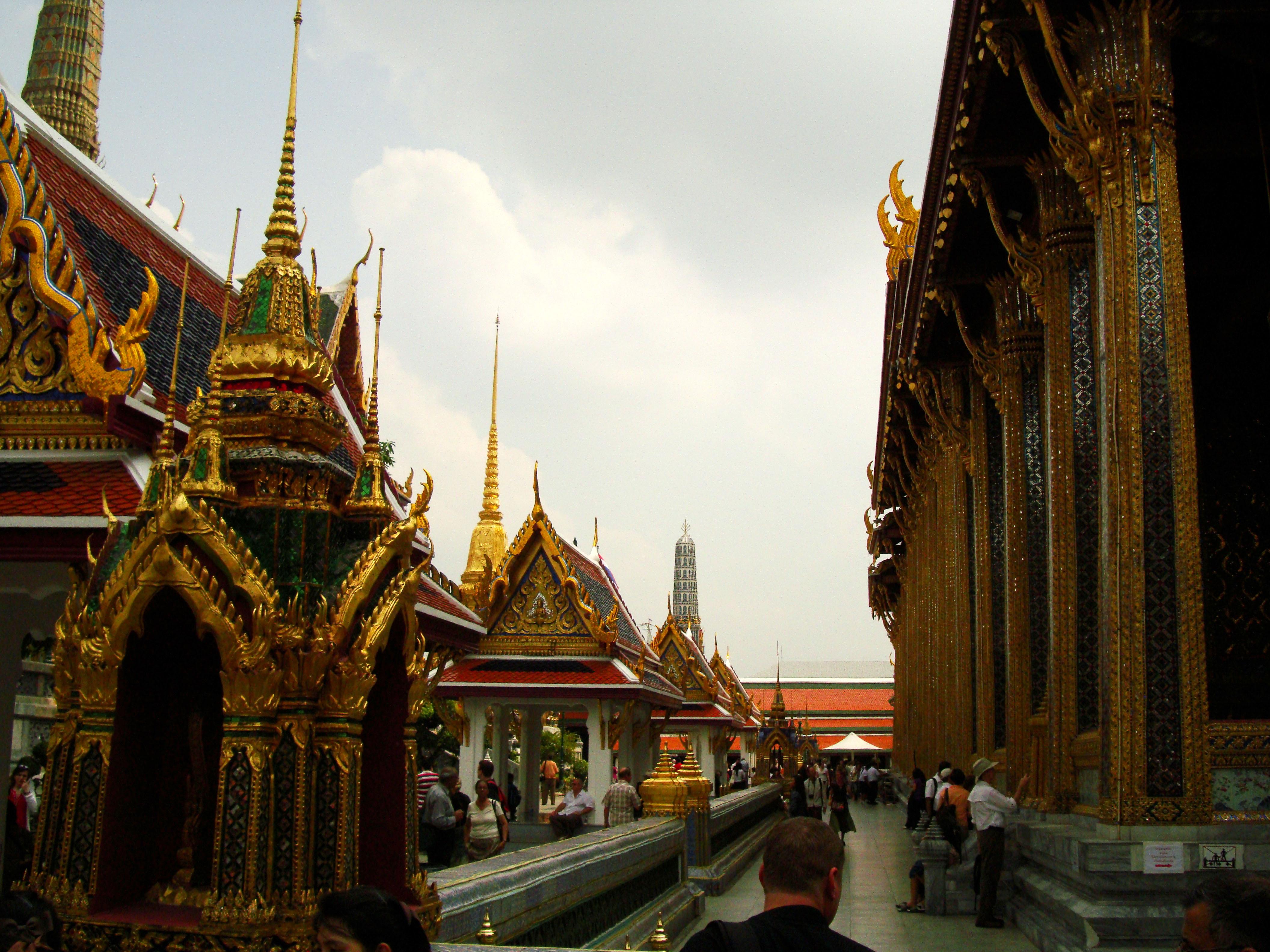 Grand Palace Phra Borom Maha Ratcha Wang Bangkok Thailand 25