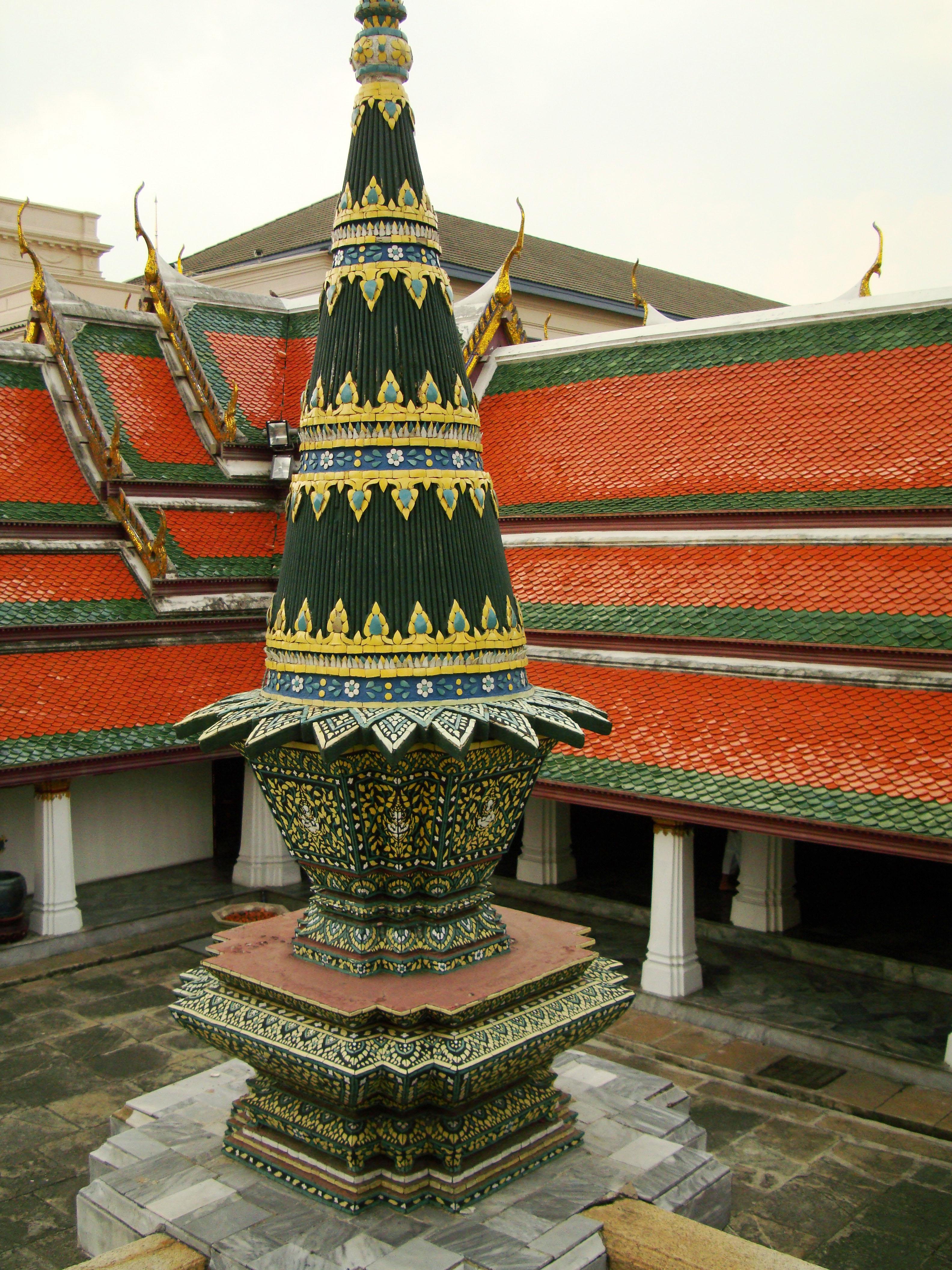 Grand Palace Phra Borom Maha Ratcha Wang Bangkok Thailand 28