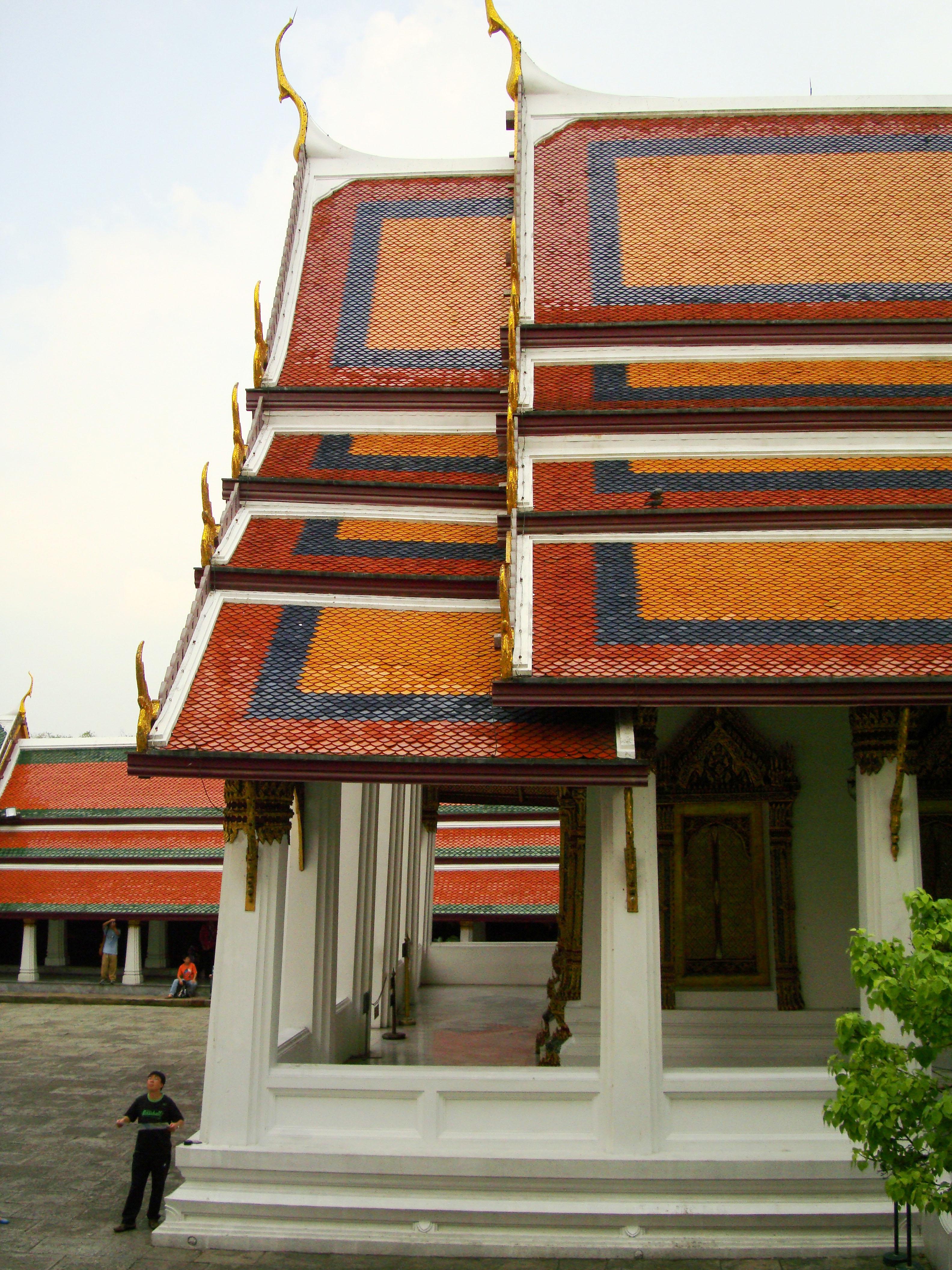 Grand Palace Phra Borom Maha Ratcha Wang Bangkok Thailand 33