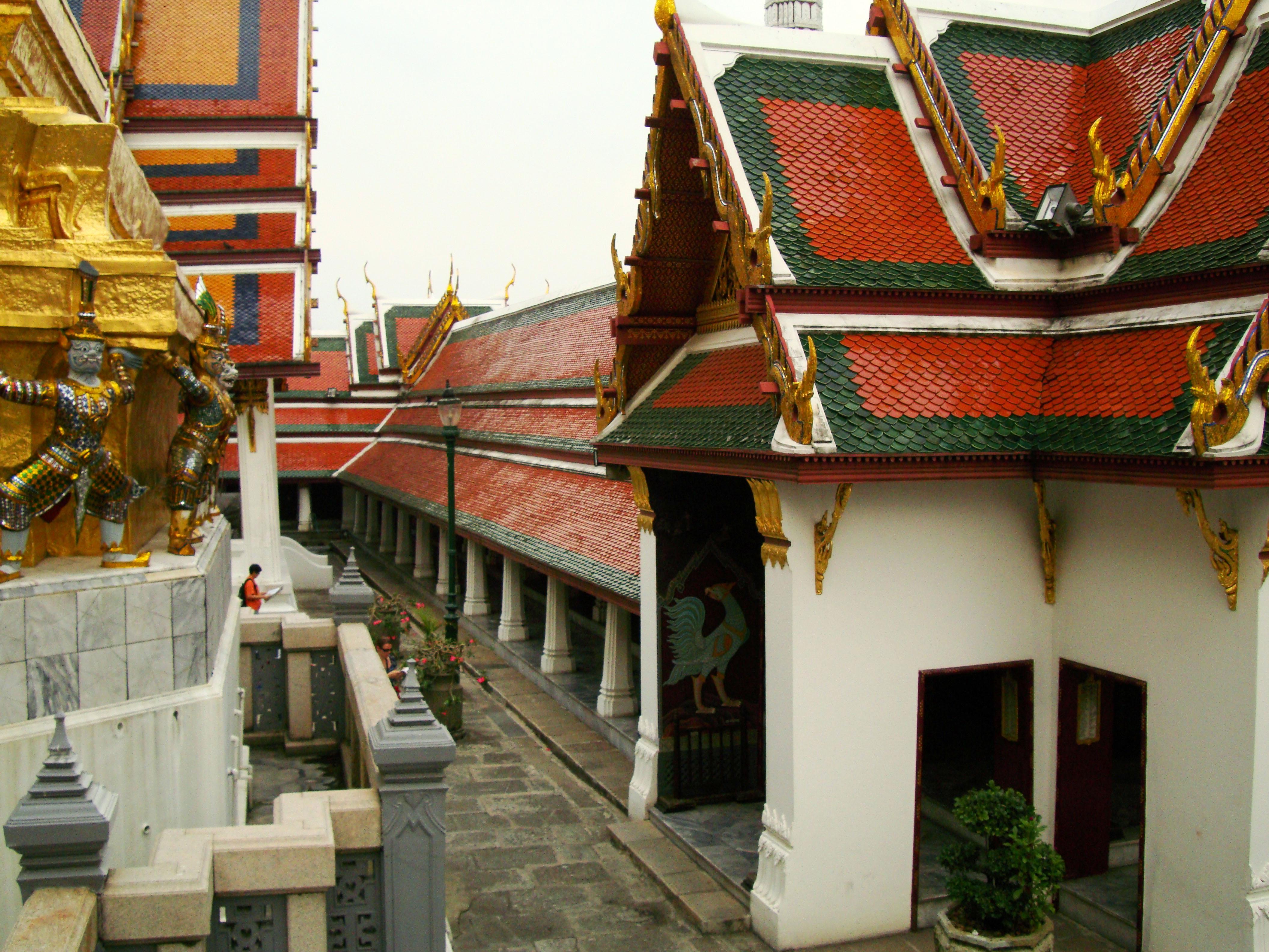 Grand Palace Phra Borom Maha Ratcha Wang Bangkok Thailand 34
