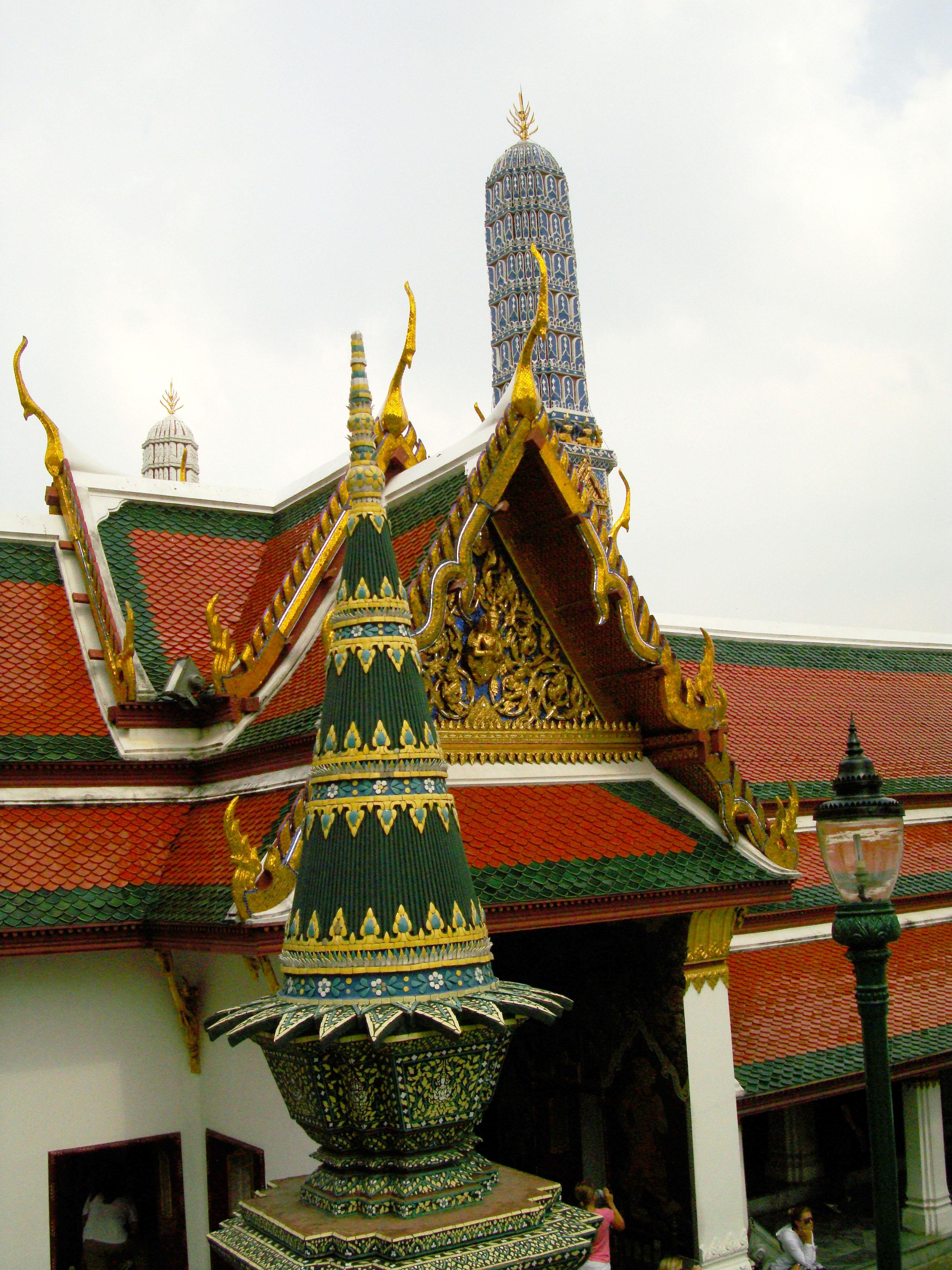 Grand Palace Phra Borom Maha Ratcha Wang Bangkok Thailand 36