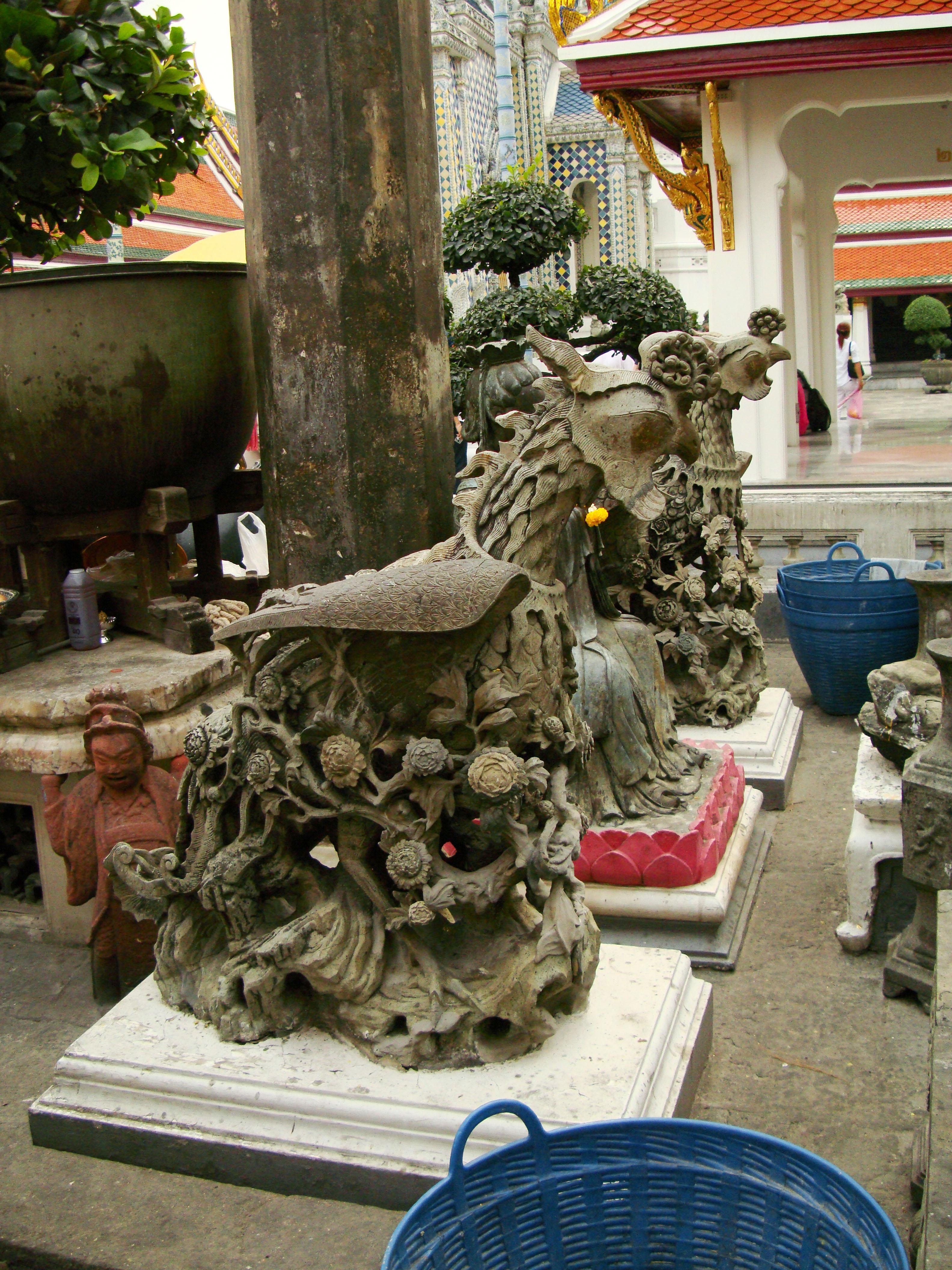 Grand Palace Phra Borom Maha Ratcha Wang Bangkok Thailand 43