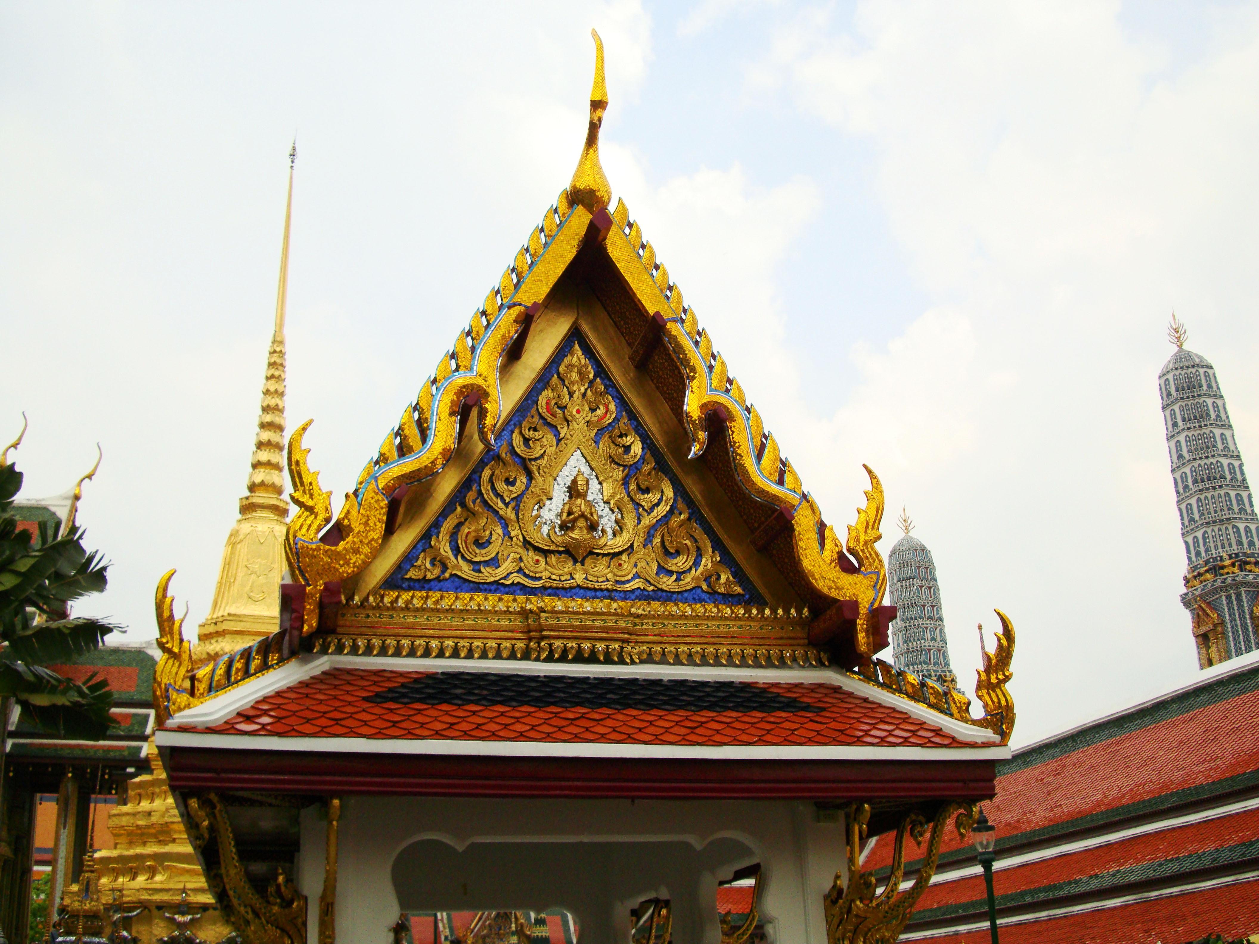 Grand Palace Phra Borom Maha Ratcha Wang Bangkok Thailand 45