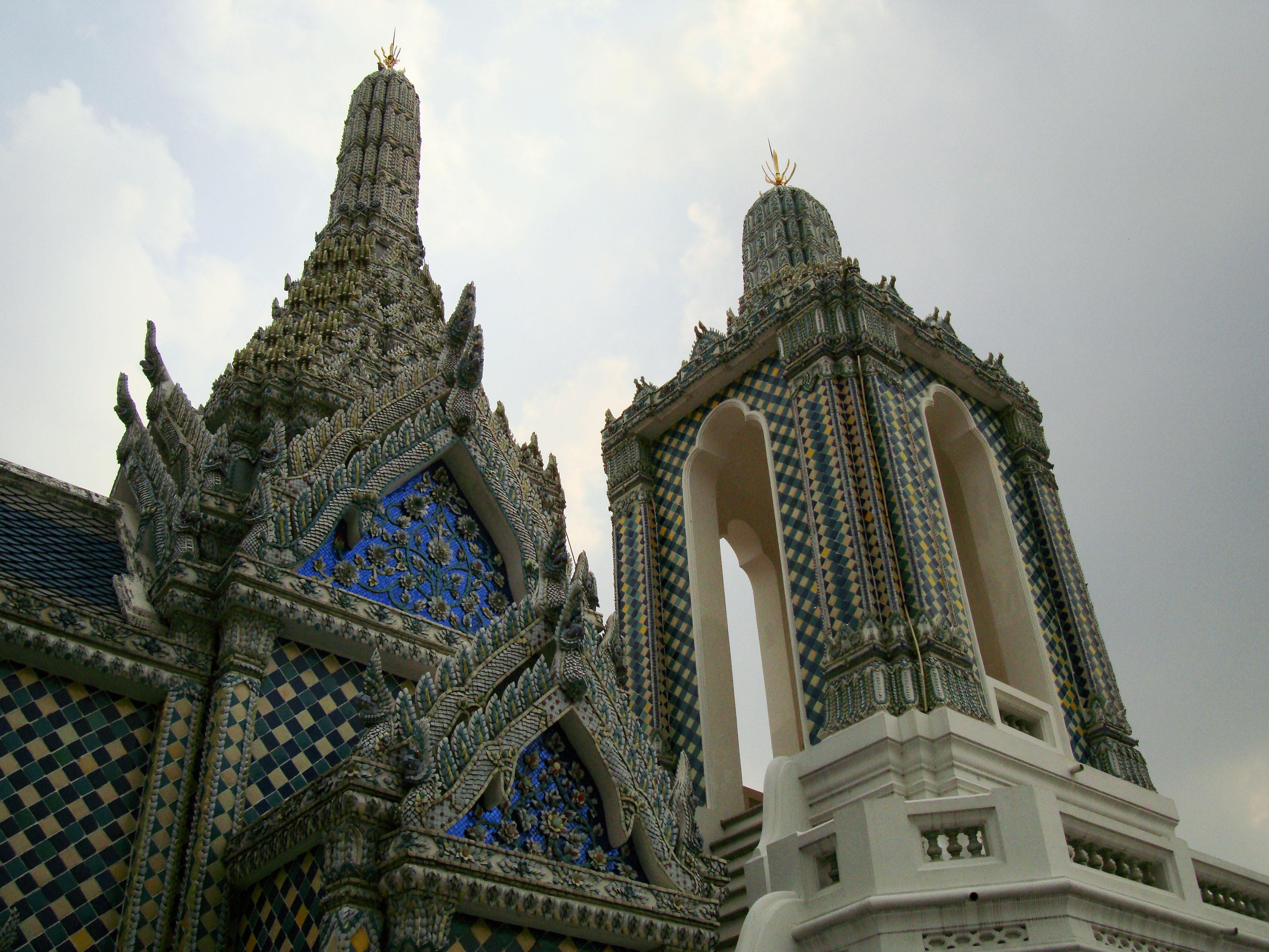 Grand Palace Phra Borom Maha Ratcha Wang Bangkok Thailand 47