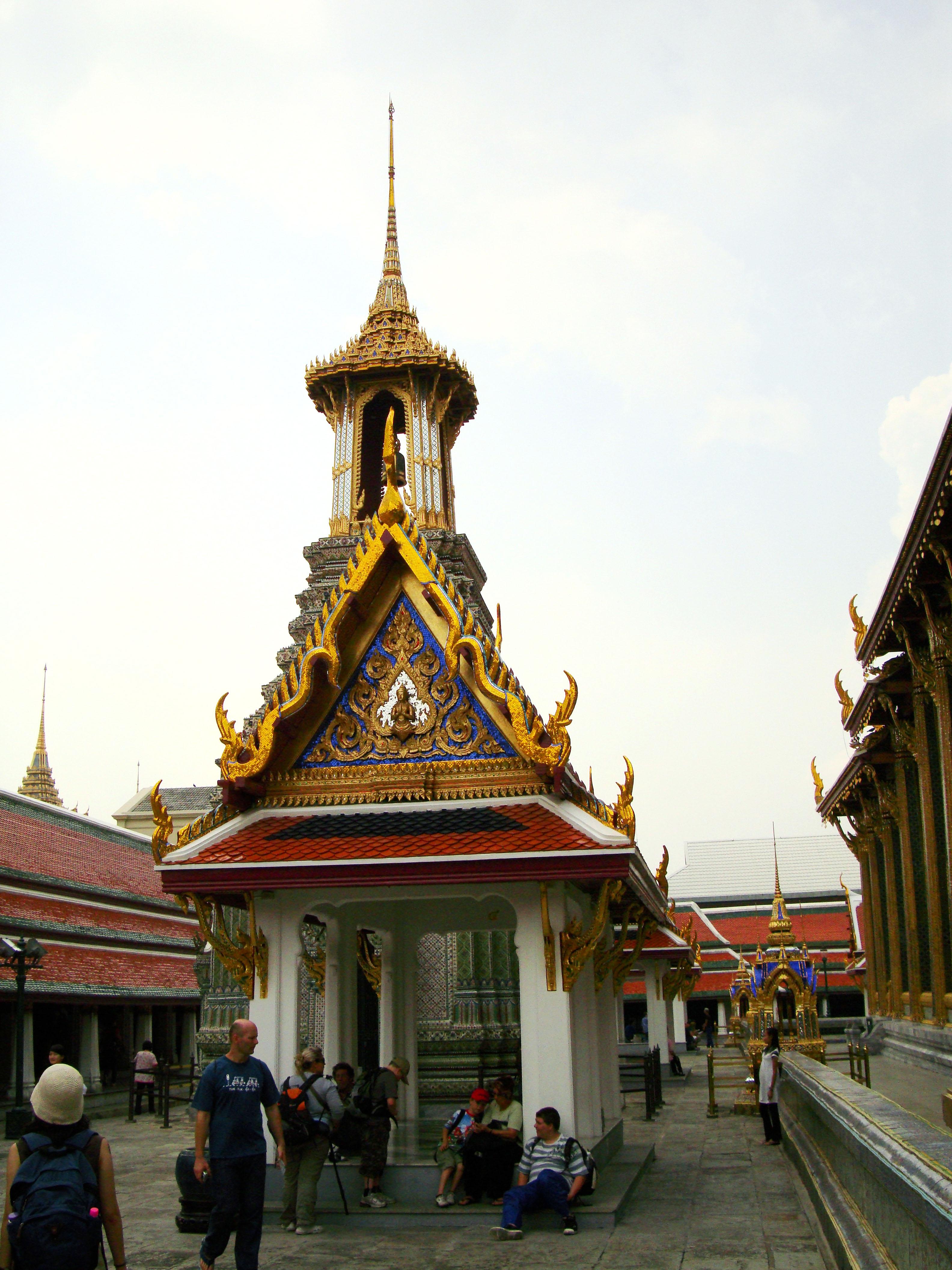 Grand Palace Phra Borom Maha Ratcha Wang Bangkok Thailand 48