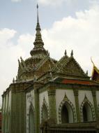 Asisbiz 05 Phra Wiharn Yod intercrit designed walls and pillars Grand Palace 2010 03