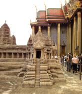 Asisbiz 06 Model of the Angkor Wat Grand Palace Bangkok Thailand 03