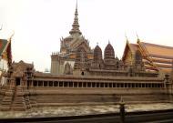 Asisbiz 06 Model of the Angkor Wat Grand Palace Bangkok Thailand 05