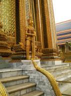 Asisbiz 07 Phra Mondop dragon stairs Grand Palace Bangkok 2010 05