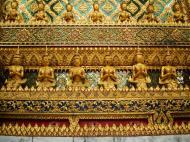 Asisbiz 07 Phra Mondop intercrit designed walls and pillars Grand Palace 2010 08