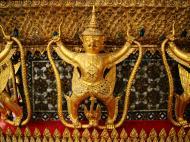 Asisbiz 10 Temple of the Emerald Buddha intercrit designed walls pillars Grand Palace 02