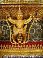 Asisbiz 10 Temple of the Emerald Buddha intercrit designed walls pillars Grand Palace 05