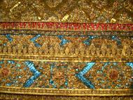 Asisbiz 10 Temple of the Emerald Buddha intercrit designed walls pillars Grand Palace 08