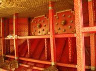 Asisbiz 10 Temple of the Emerald Buddha intercrit designed walls pillars Grand Palace 13