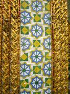 Asisbiz Grand Palace beautifully designed Chinese Mosaic tiles Bangkok Thailand 03