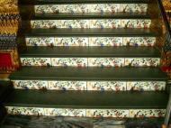 Asisbiz Grand Palace beautifully designed Chinese Mosaic tiles Bangkok Thailand 05