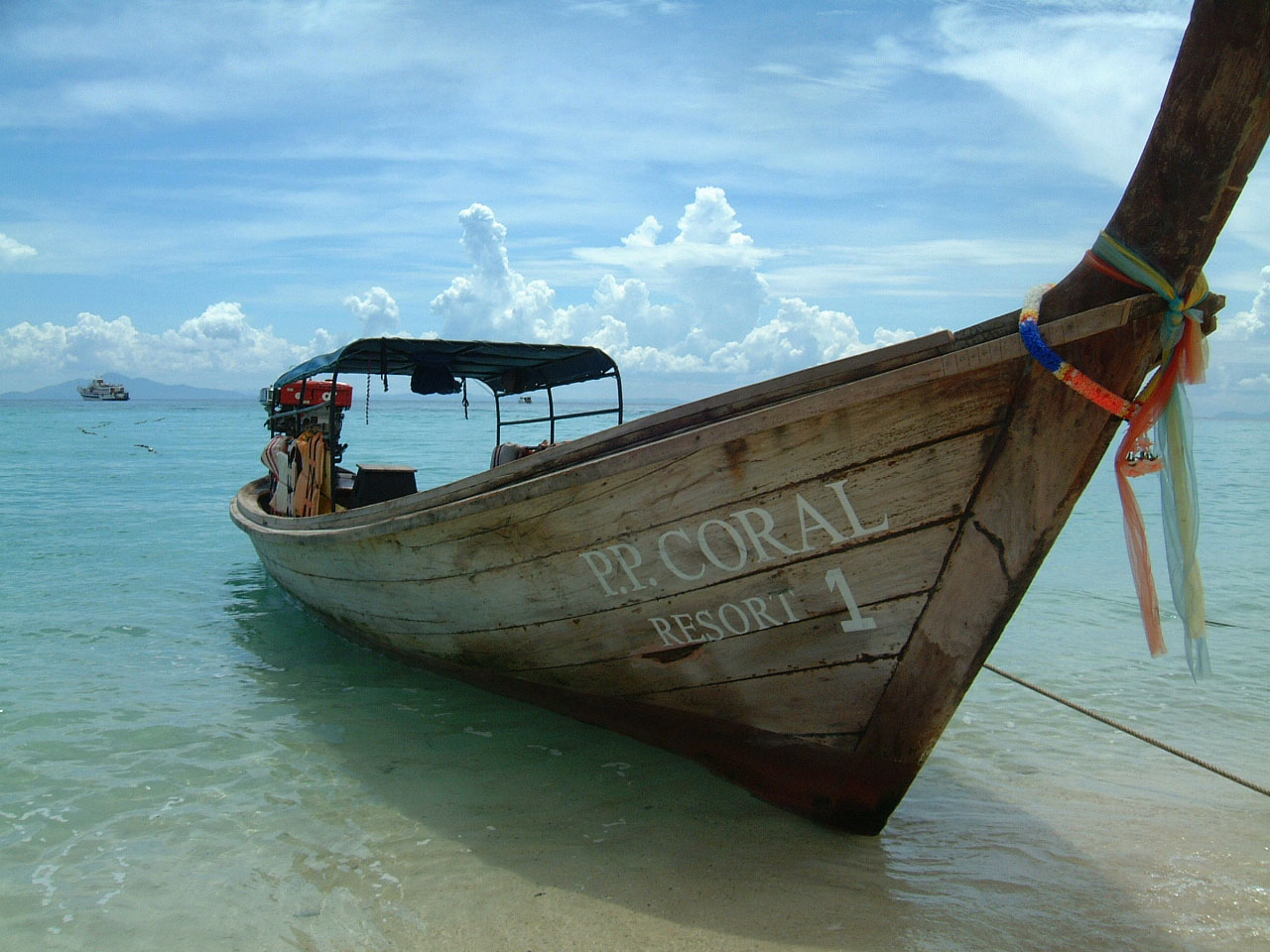Thailand Phi Phi Island panoramic scenes Mar 2003 02