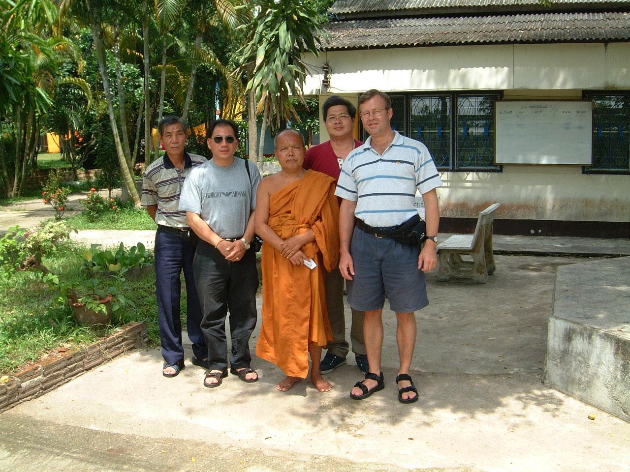 Buddhist Pilgrimage Southern Thailand Apr 2001 01