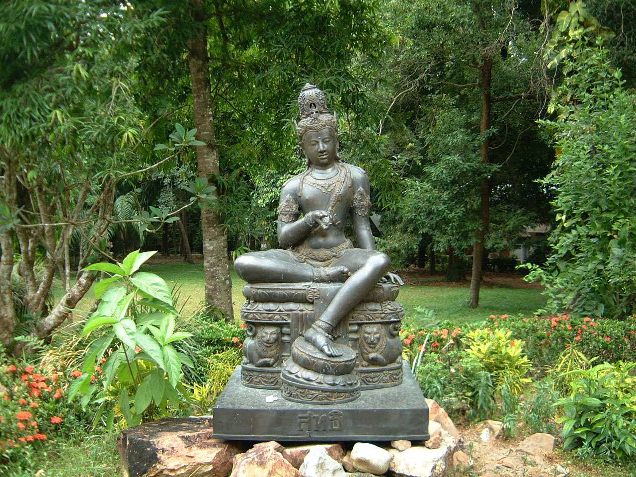 Buddhist Pilgrimage Southern Thailand Apr 2001 12