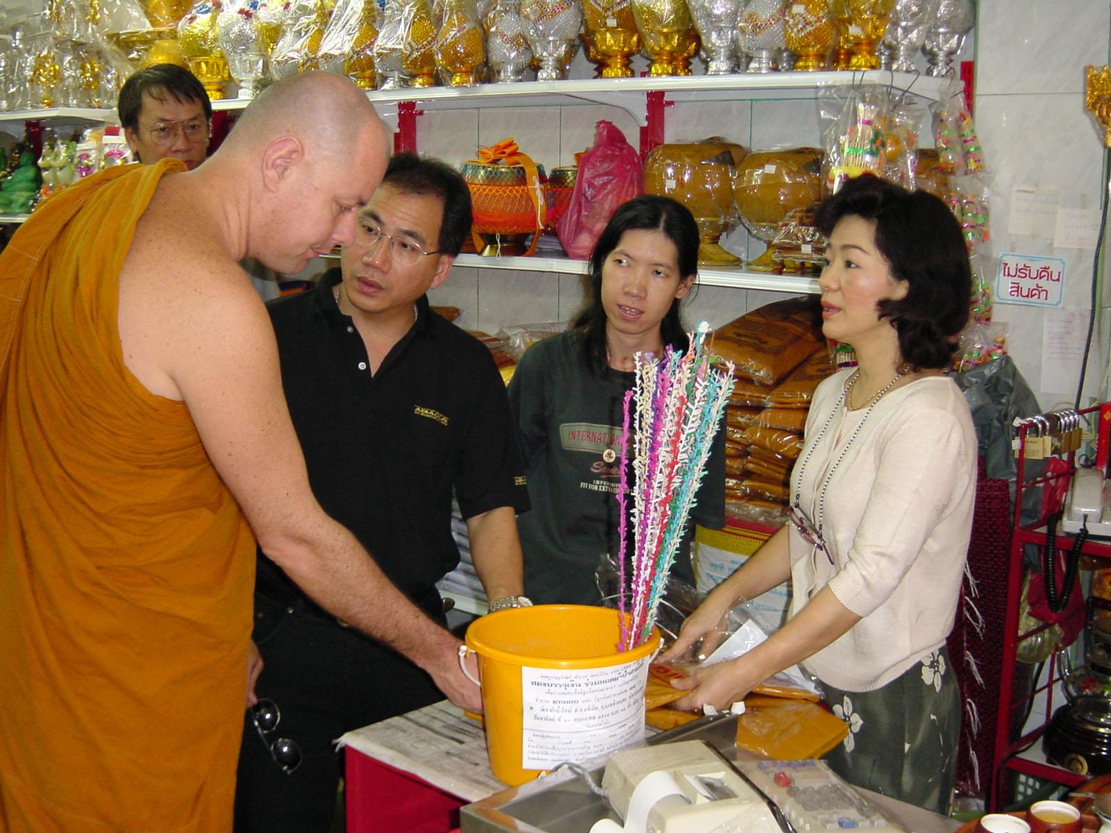 Buddhist Pilgrimage Southern Thailand Apr 2001 26