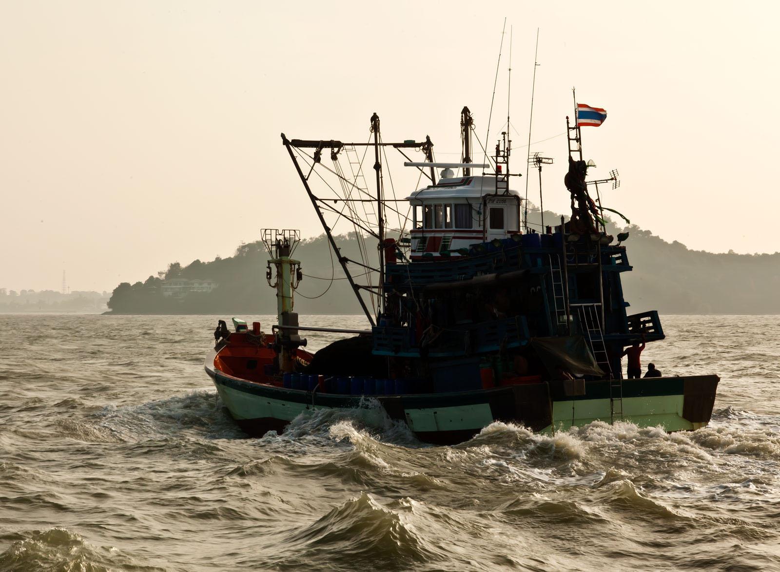 Thai fishing boat PSF 2266 Phuket Province Thailand 01