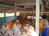 Asisbiz Buddhist Pilgrimage Southern Thailand dharma lunch 2001 04