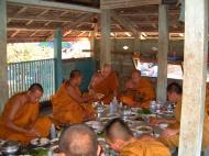 Asisbiz Buddhist Pilgrimage Southern Thailand dharma lunch 2001 06
