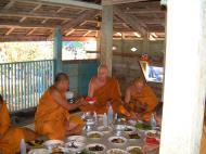Asisbiz Buddhist Pilgrimage Southern Thailand dharma lunch 2001 07
