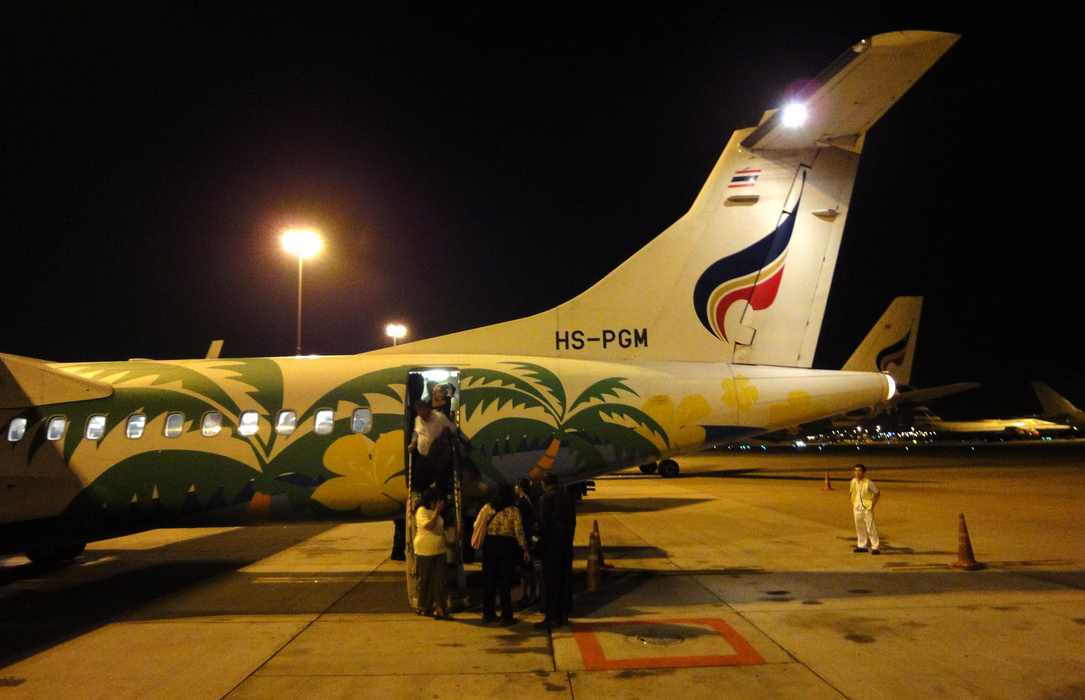 Bangkok Airlines HS PGM Suvarnabhumi Airport Thailand 2009 01