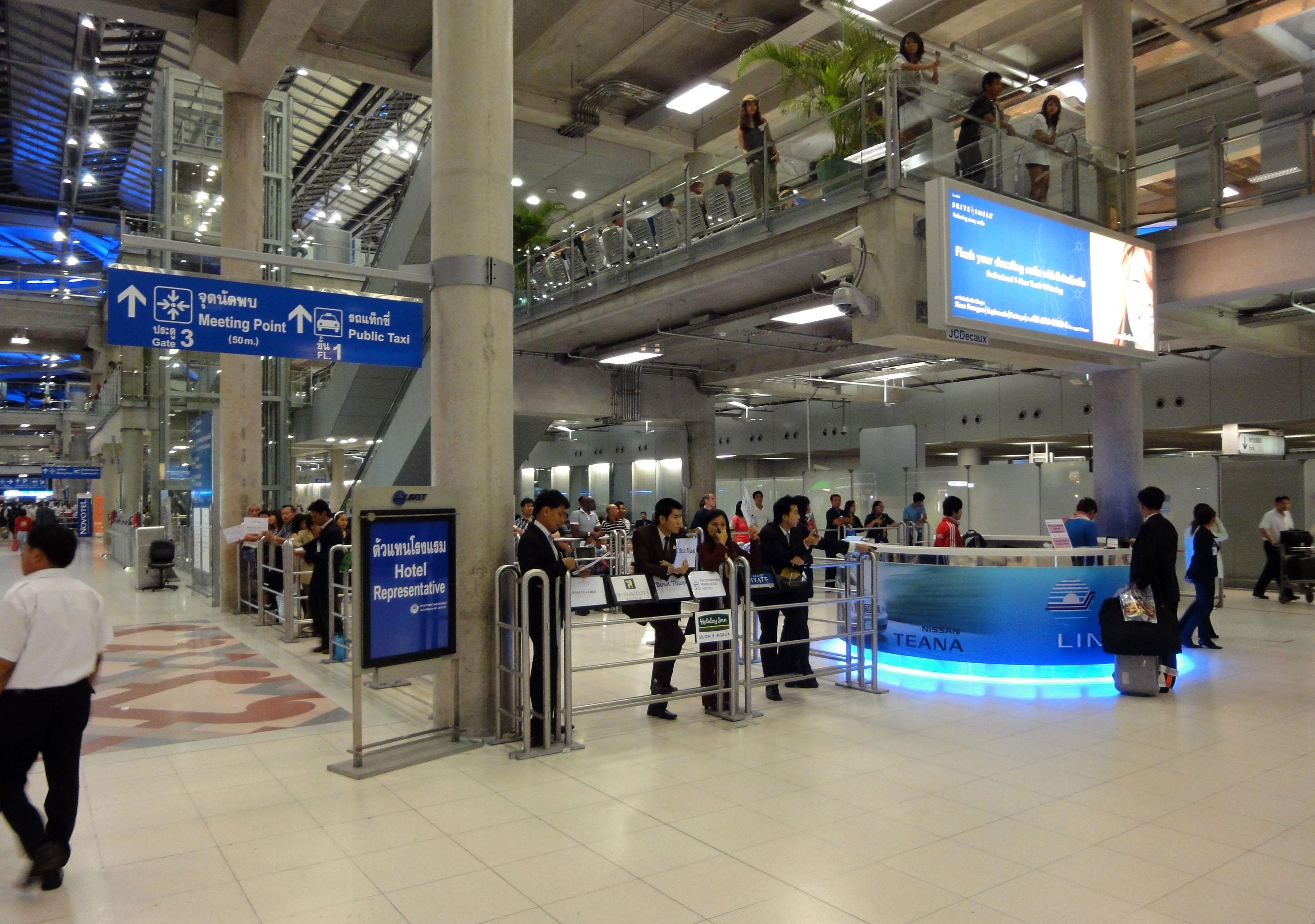 Passenger Terminal Suvarnabhumi Airport Thailand 2009 03