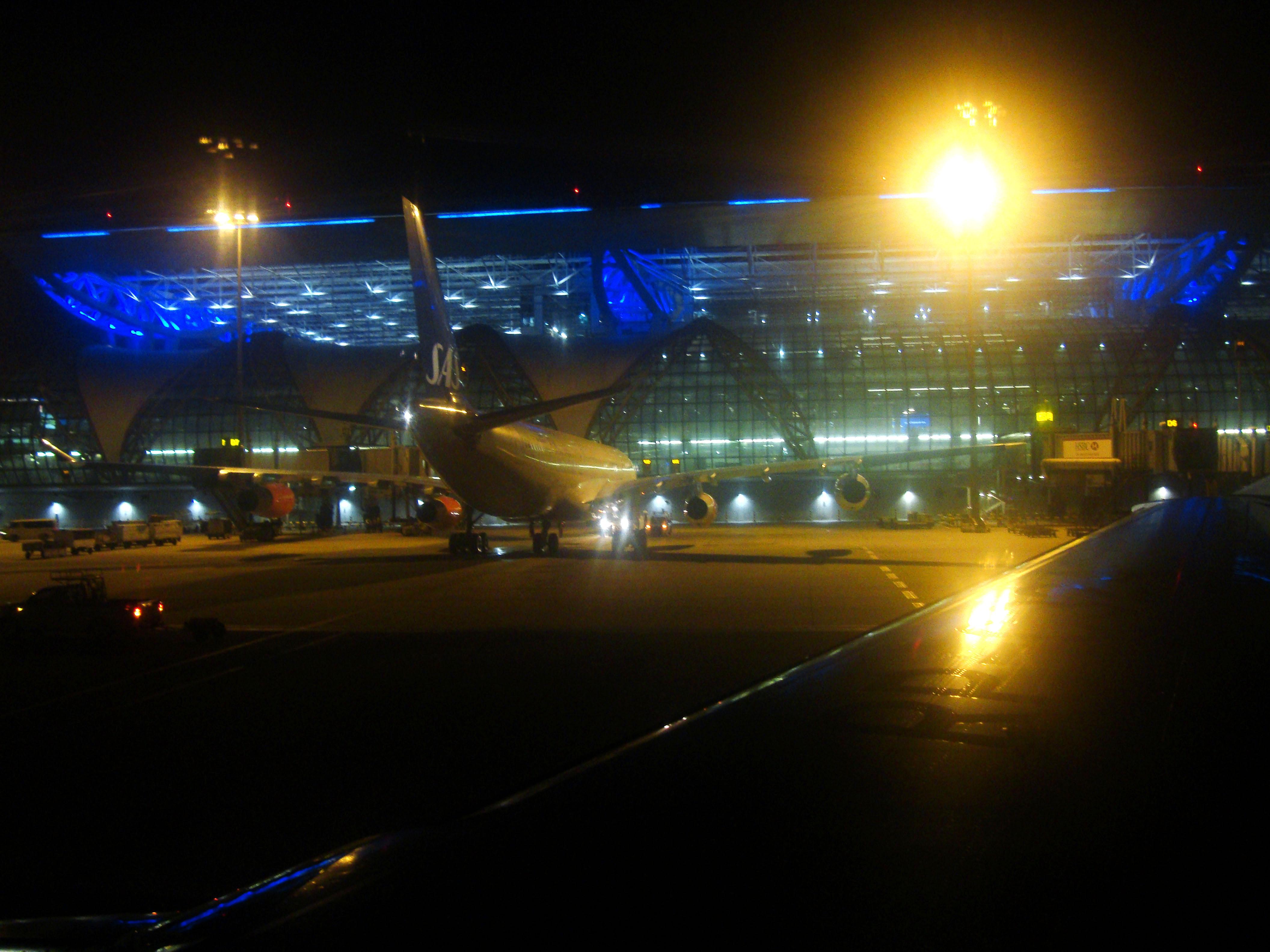 Suvarnabhumi Airport Thailand 2009 01