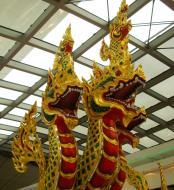 Asisbiz Churning of the Milk Ocean statue Suvarnabhumi Airport Thailand 2009 02