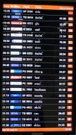 Asisbiz Flight Arival and Departure boards Suvarnabhumi Airport Thailand 2009 03